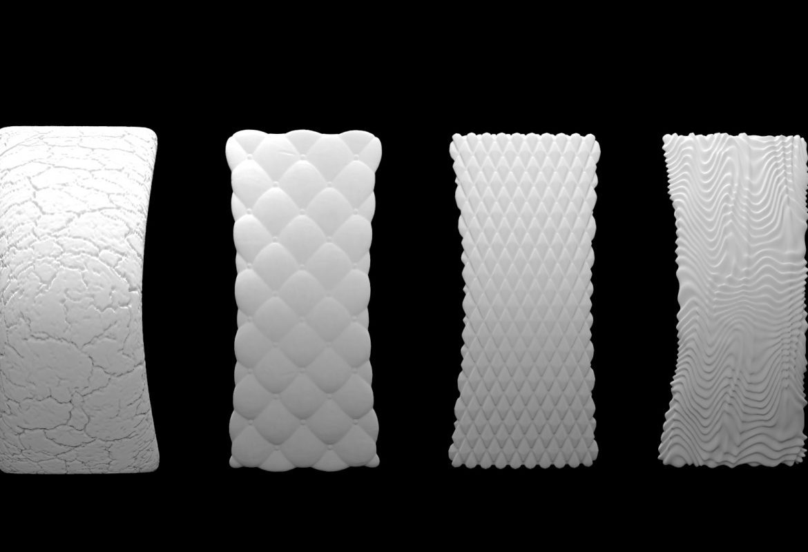 Creating 3D Textures for 3D Printing